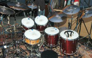 Brians Yamaha Maple Custom Absolute kit