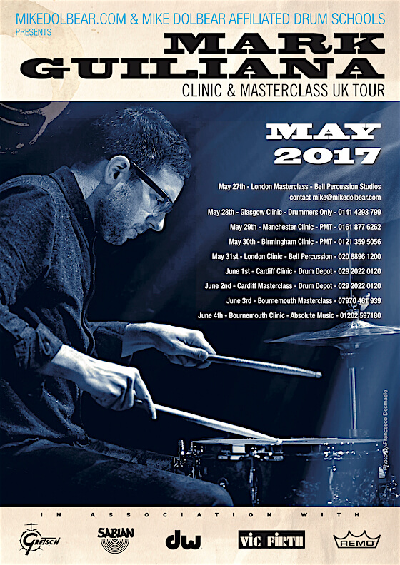 Mark Guiliana Masterclass Tour