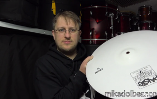Cymbal Comparison. The effect on the sound through different finishes.