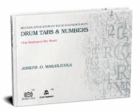 Drum Tabs & Numbers – Joseph O. Makanjuola