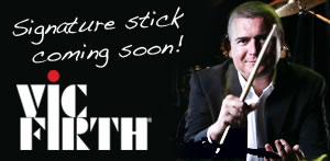 Steve White Vic Firth