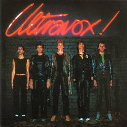 Early Ultravox!... complete with the exclamation mark