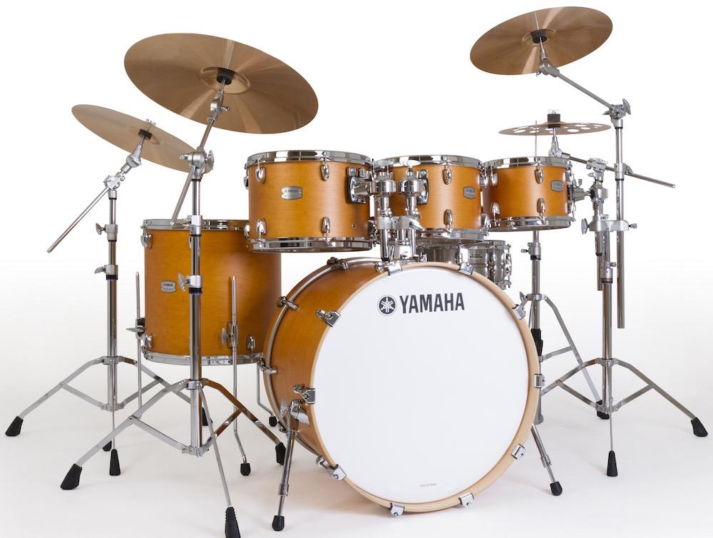 yamaha tour custom drum set is back mike dolbear. Black Bedroom Furniture Sets. Home Design Ideas