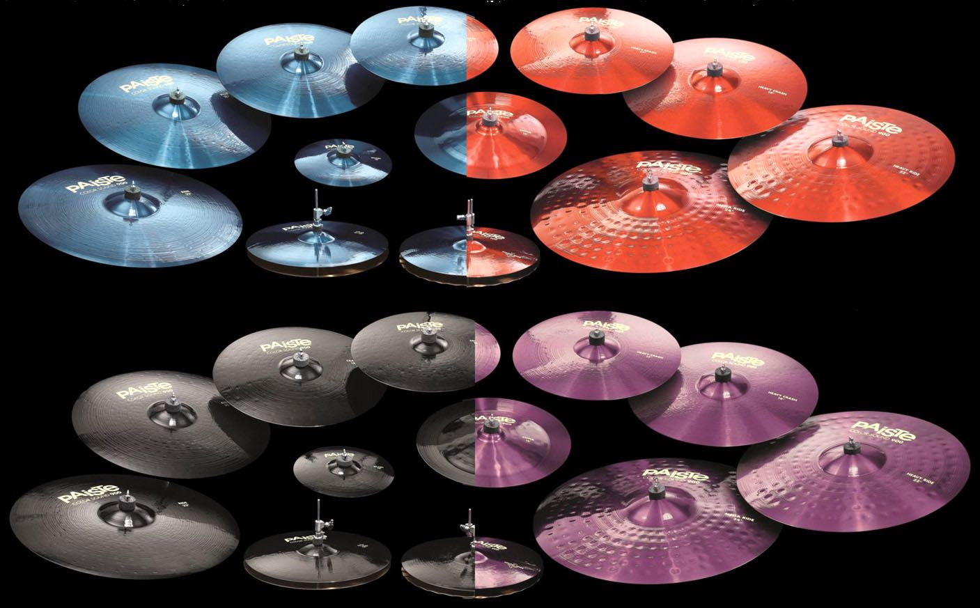 paiste 900 color sound cymbal selection mike dolbear