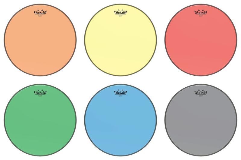 remo colortone drum heads mike dolbear. Black Bedroom Furniture Sets. Home Design Ideas